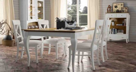 Mesa de comedor muebles la alcoba - Mesa comedor colonial ...