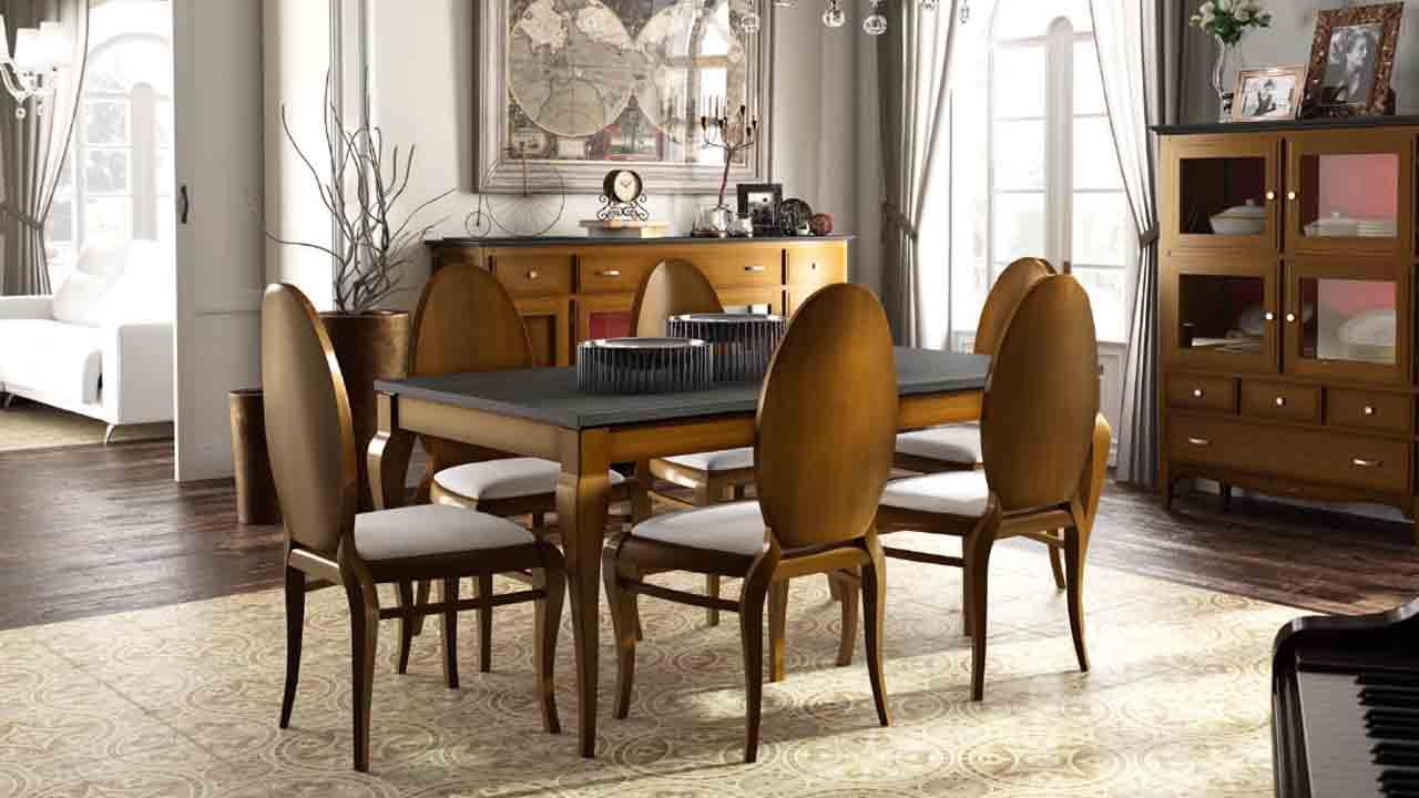 Mesa de comedor colonial muebles la alcoba Mesa comedor colonial