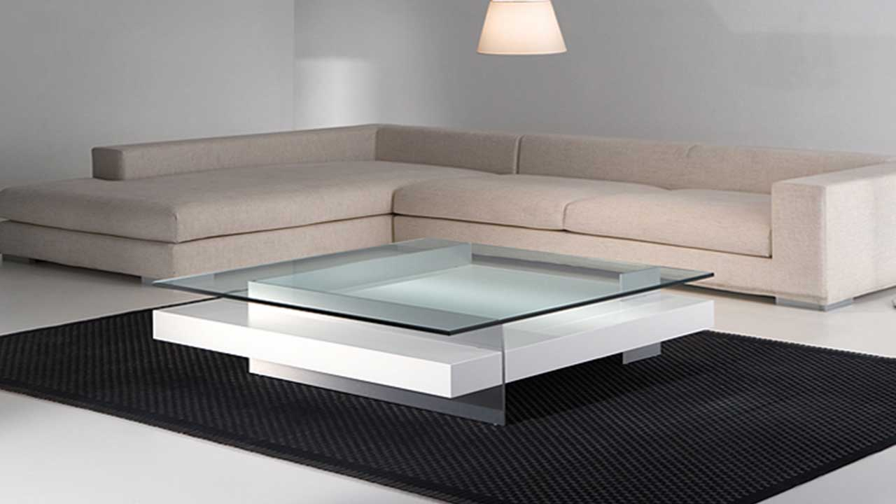 Mesas de centro moderno muebles la alcoba for Mesas de salon de cristal
