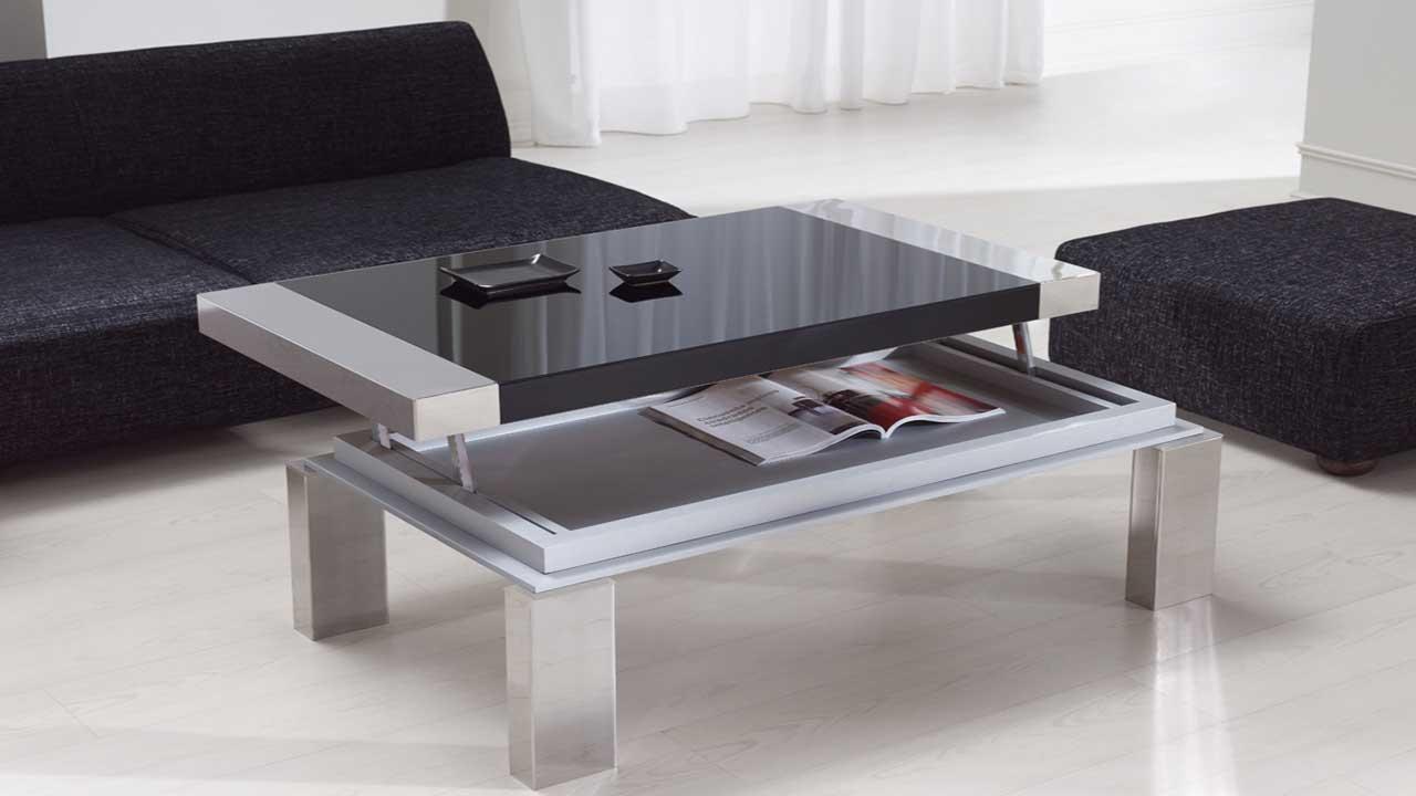 Mesas de centro moderno muebles la alcoba for Mesas o muebles para telefonos