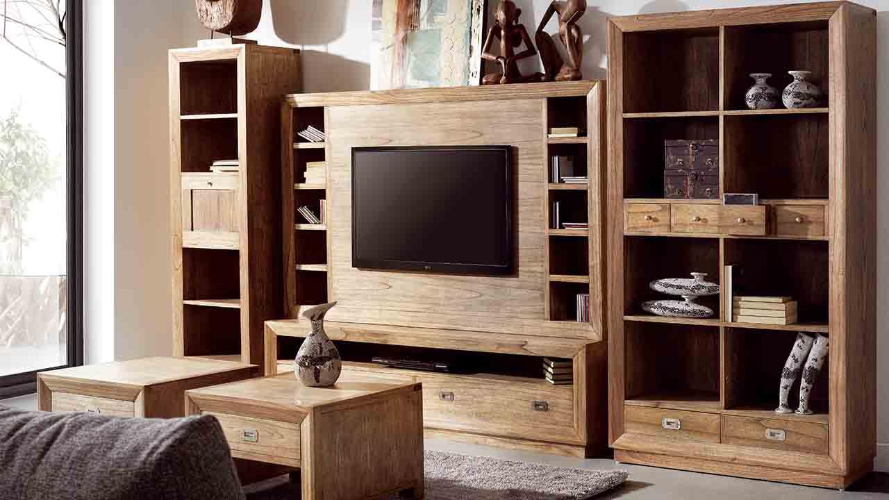 Sal n colonial muebles la alcoba for Muebles estilo colonial moderno