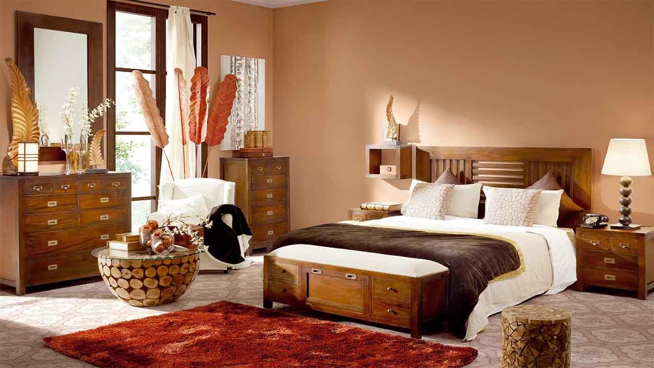 Dormitorio colonial muebles la alcoba - Ambientes de dormitorios ...