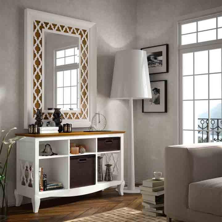 Recibidor colonial muebles la alcoba - Mueble de recibidor ...