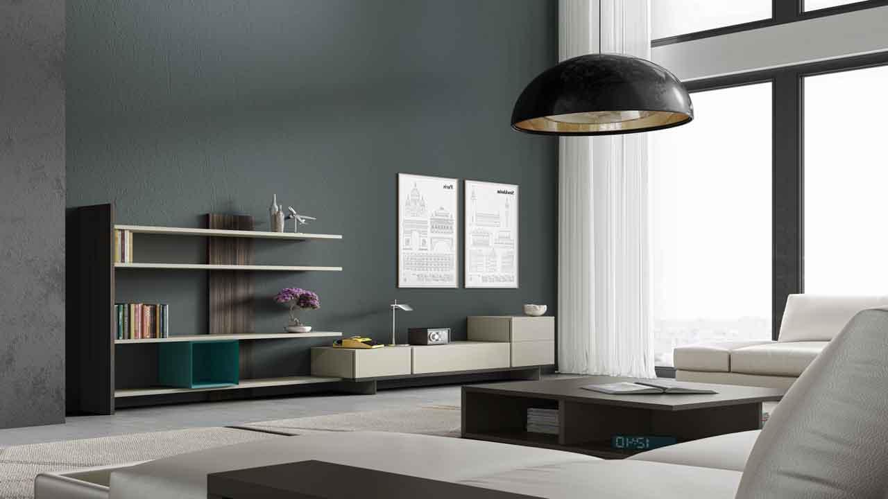 Sal n moderno muebles la alcoba - Salon colonial moderno ...