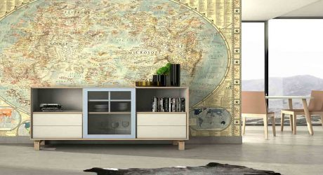 Mueble Auxiliar Moderno